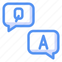 education, info, learning, online, question, support icon