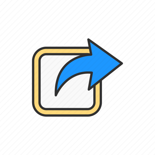 connection, network, share, web icon