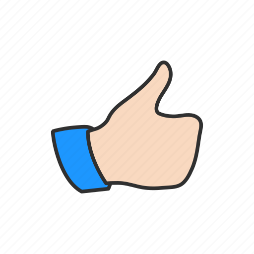 approve, like, love, thumbs up icon