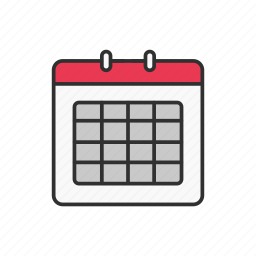 calendar, date, month, year icon