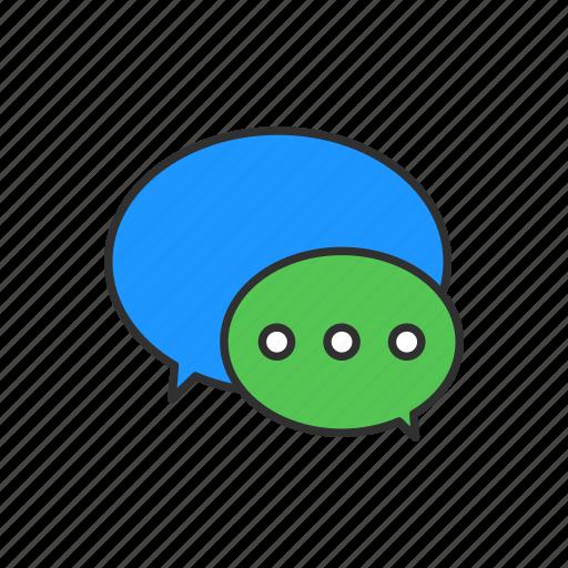 chat, conversation, message, speech bubble icon