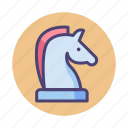 business, business strategy, chess, horse, strategy icon