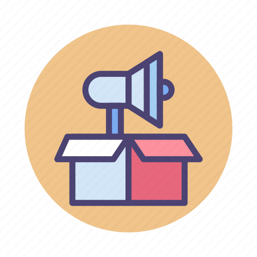 Advertising, campaign, campaign launch, launch icon - Download on Iconfinder