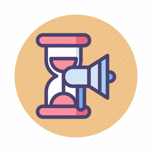 Campaign, campaign period, campaign timing, timing icon - Download on Iconfinder