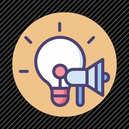 advertising, campaigns, creative, creative campaign, idea, light bulb icon