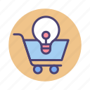 cart, commerce, retail, shopping cart, trolley icon