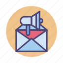 email, email marketing, marketing, newsletter icon