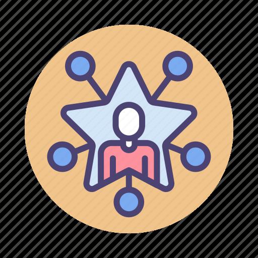 Celebrity, fame, famous, influencer, social media icon - Download on Iconfinder