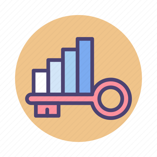 Chart, graph, keywords, rankings icon - Download on Iconfinder