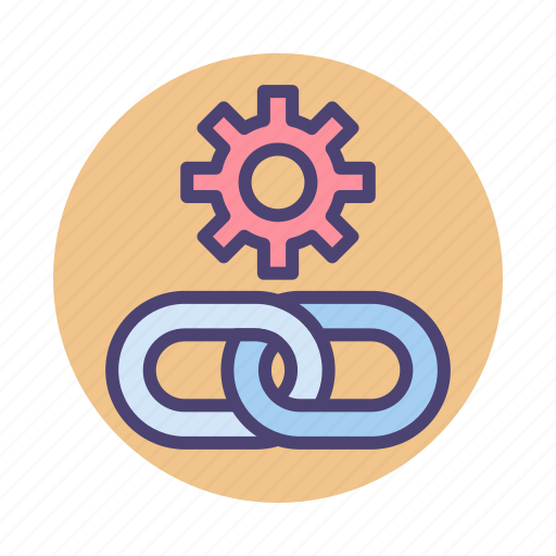 Building, hyperlink, link, link building, url icon - Download on Iconfinder