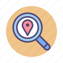 local, local search, search icon