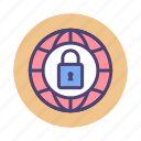 network, private, secured, vpn icon