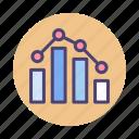 ranking, benchmark, chart, graph, seo, seo benchmark icon