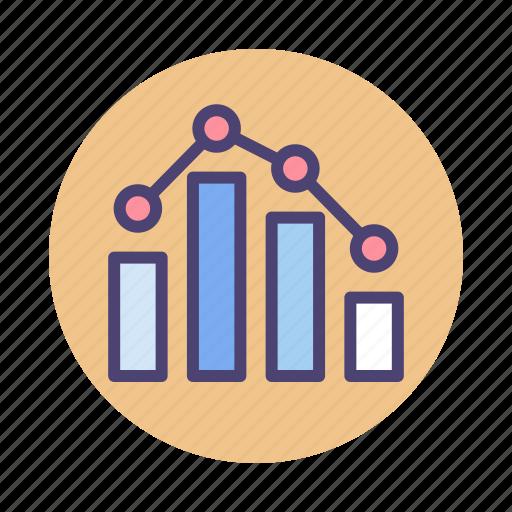 benchmark, chart, graph, ranking, seo, seo benchmark icon