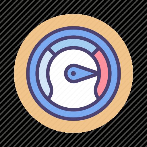 Gauge, meter, performance, seo icon - Download on Iconfinder