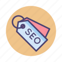 seo, seo tags, tags icon