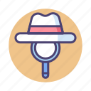 seo, white hat seo icon