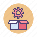 package, packages, service, services icon