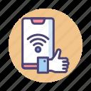 connectivity, signal, social, social signal, wifi