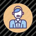 customer service, representative, services, support