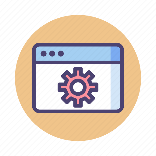 optimization, seo, website icon