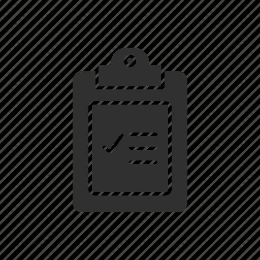 check, checklist, list, purchase icon