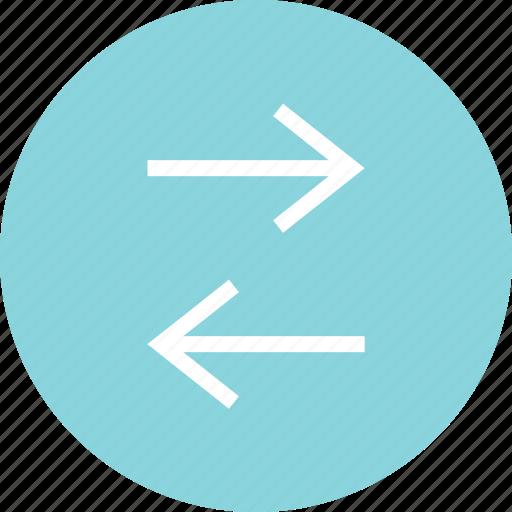 arrows, connect, connection, data, menu icon