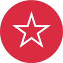 bookmark, favorite, menu, special, star icon