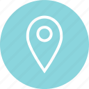 direction, gps, location, menu, pin icon