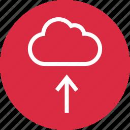 cloud, menu, save, up, upload icon