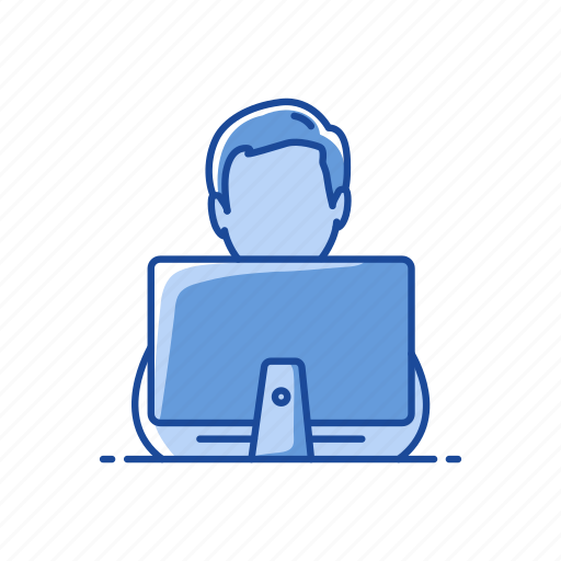 chat, online chat, typing, working icon