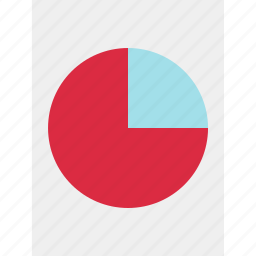 business, chart, online, pie, results icon