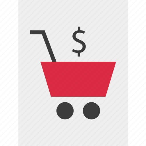 cart, dollar, online, shopping icon