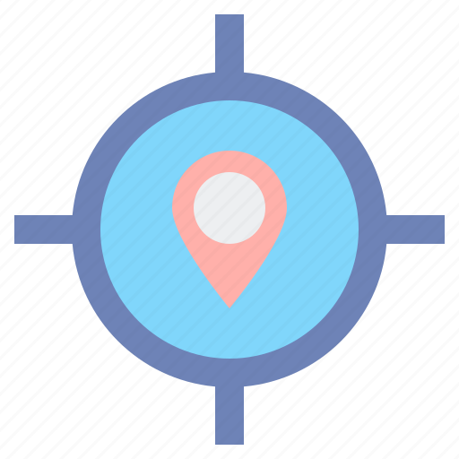 finder, gps, location icon