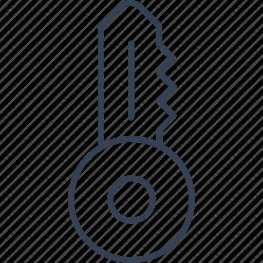 key, office, online, web icon