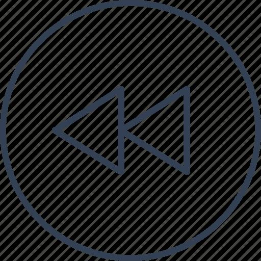 movie, office, online, rewind icon