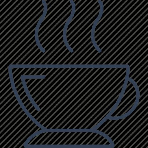 coffee, drink, office, online, tea icon