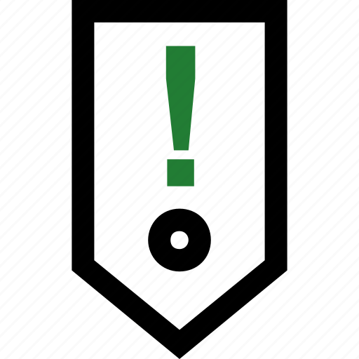 attention, exclamation, guardar, save, savings, sign icon