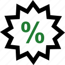 percent, percentage, rate, special icon