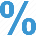 business, calculate, calculation, finance, percent, percentage icon