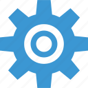 analytics, gear, options, setup, work, working icon
