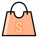 bag, cart, ecommerce, online, shop