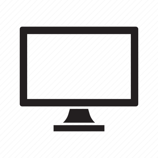 computer, ecommerce, monitor, online, shop, shopping icon