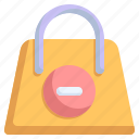bag, commerce, purchase, remove, sale