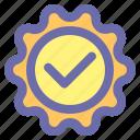 approval, best, certificate, emblem, guarantee