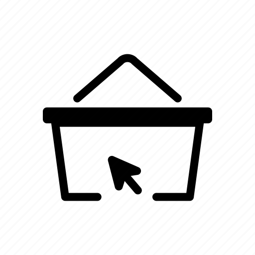 basket, clothes, marketplace, online, shopping icon