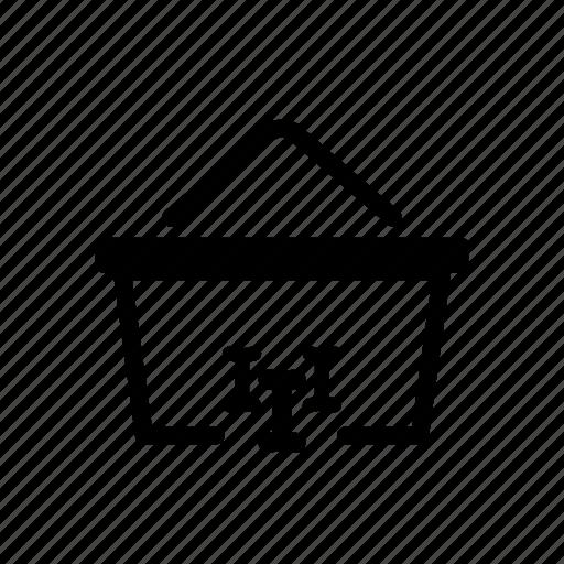 basket, dog, food, online, pet, shopping icon