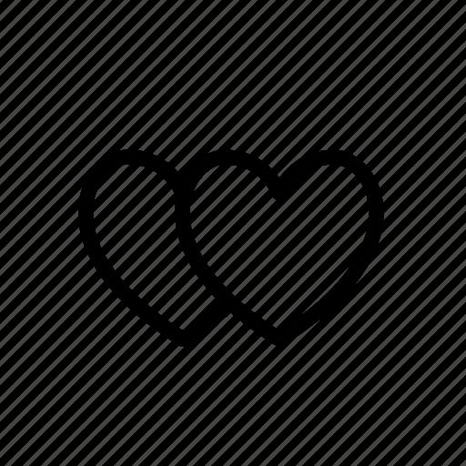heart, like, love, shopping icon