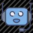 call, center, customer, help, robot, service, support