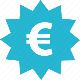euro, online, pay, shop, shopping, sign, tag icon